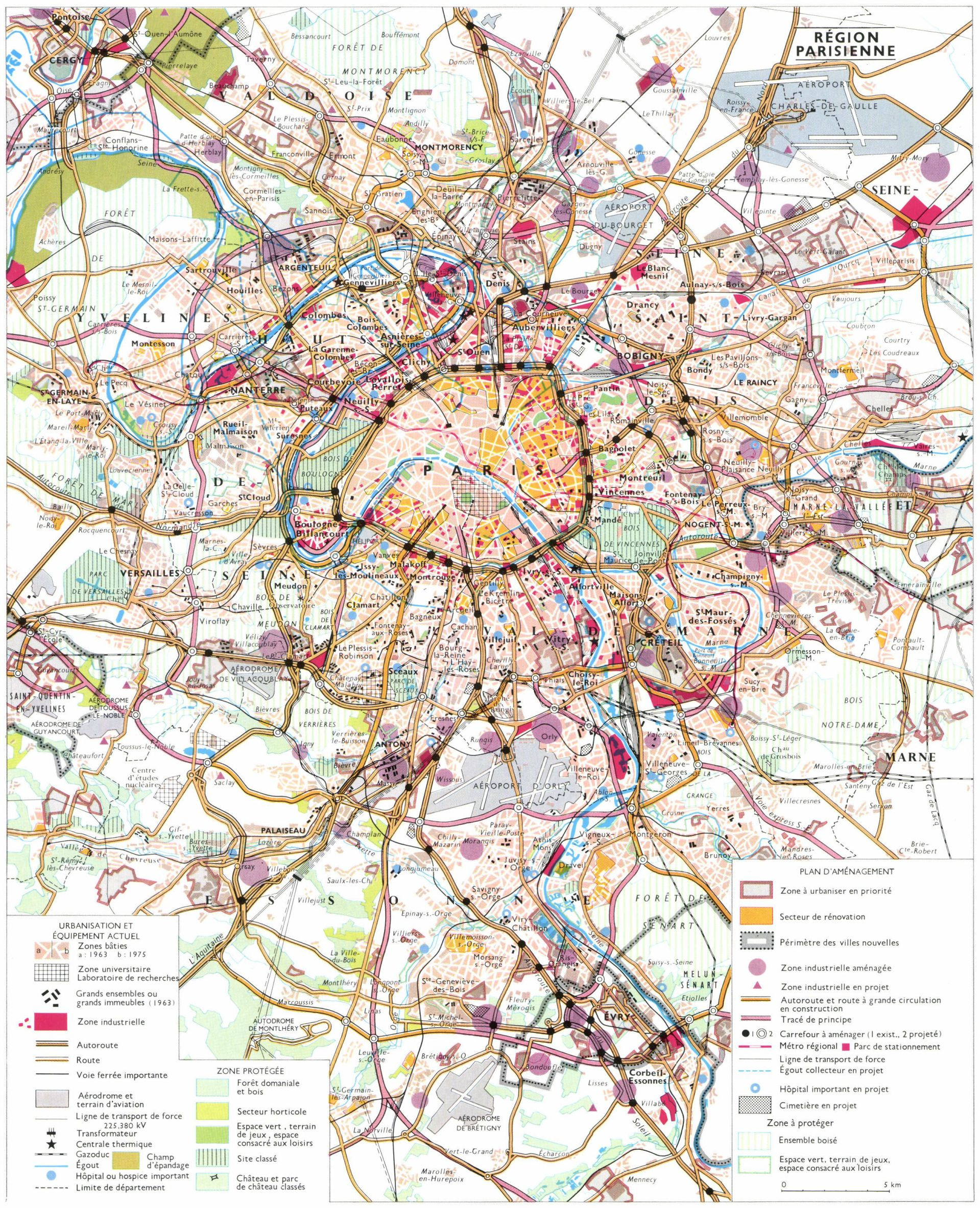 Clermont Ferrand Plan Ville